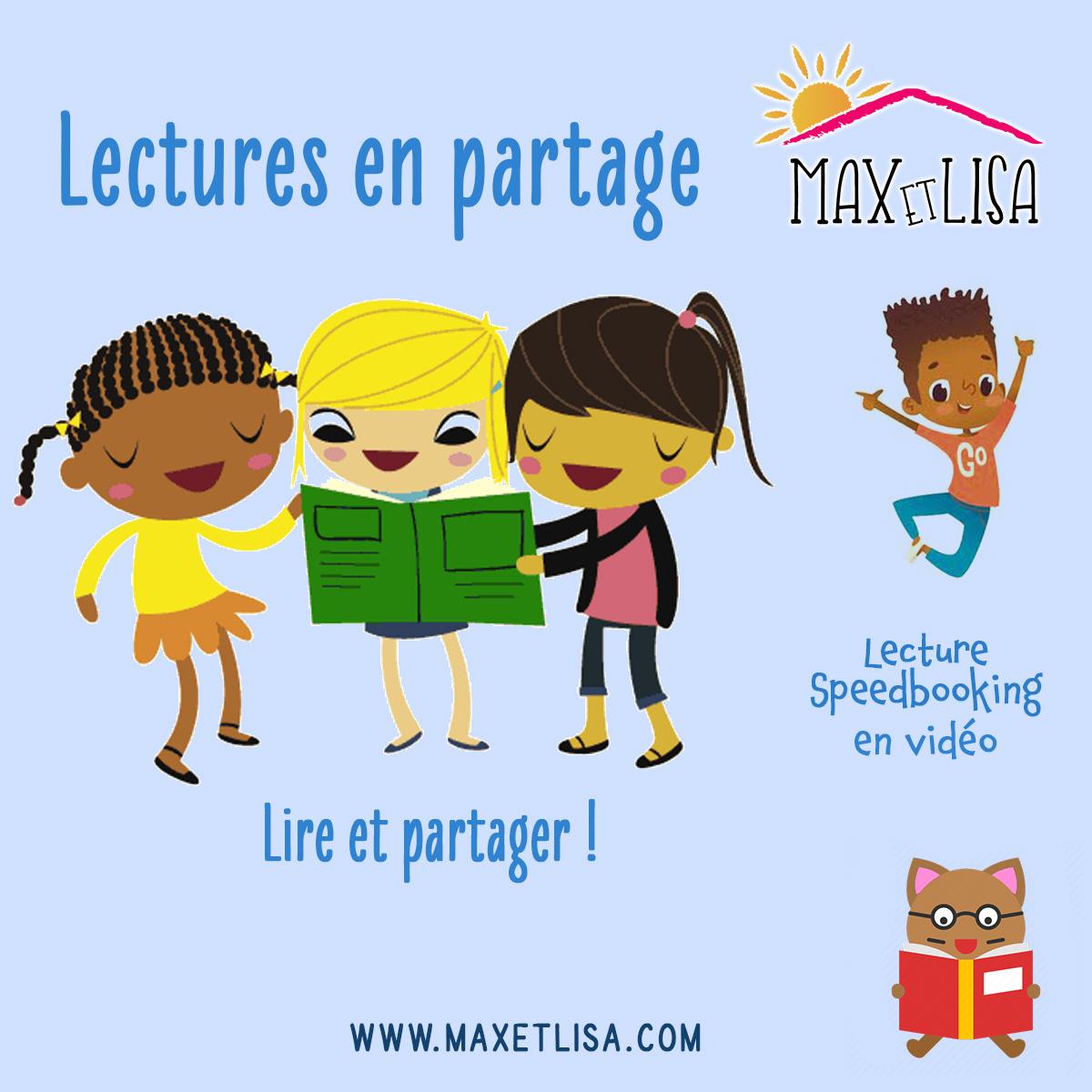 Lectures en partage – Nouveau rdv de Maxetlisa