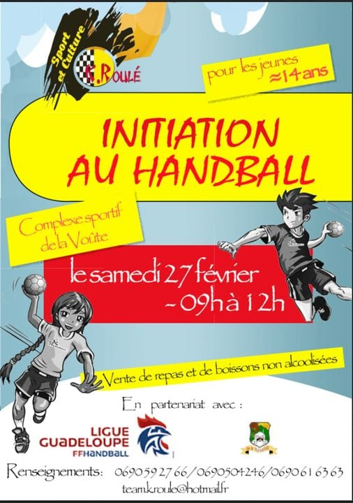 Initiation au Handball – Vieux Habitants
