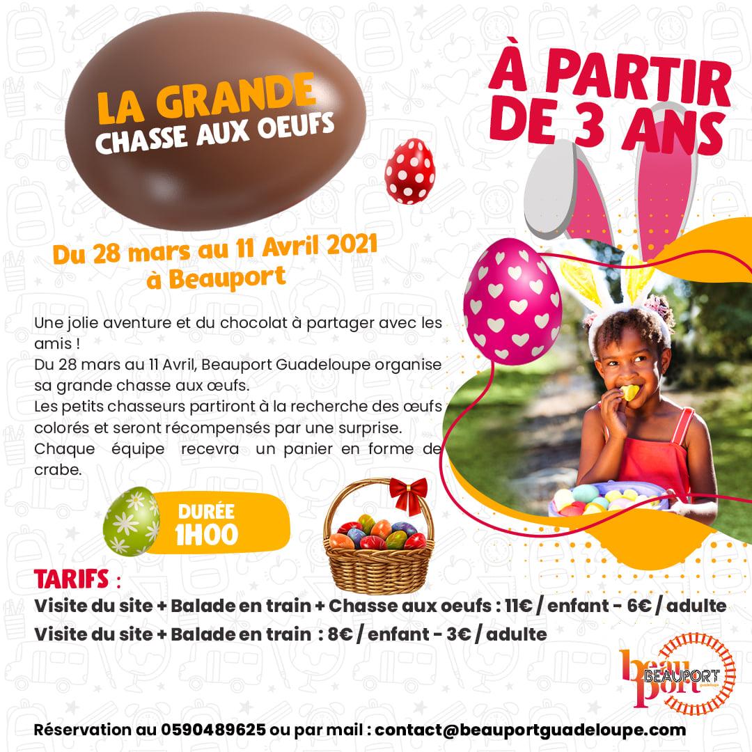 La grande chasse aux œufs – Beauport – Port-Louis