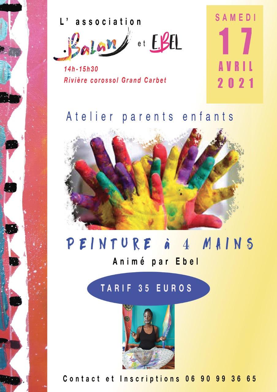 Peinture à 4 mains- Petit-Bourg