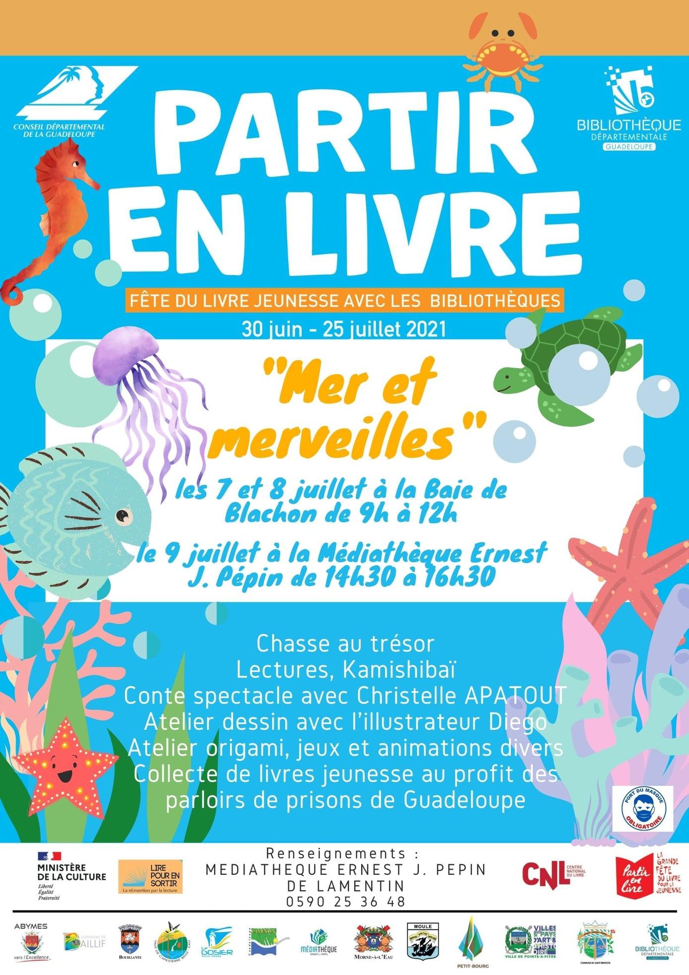 Partir en livre en Guadeloupe » Mer et Merveilles»