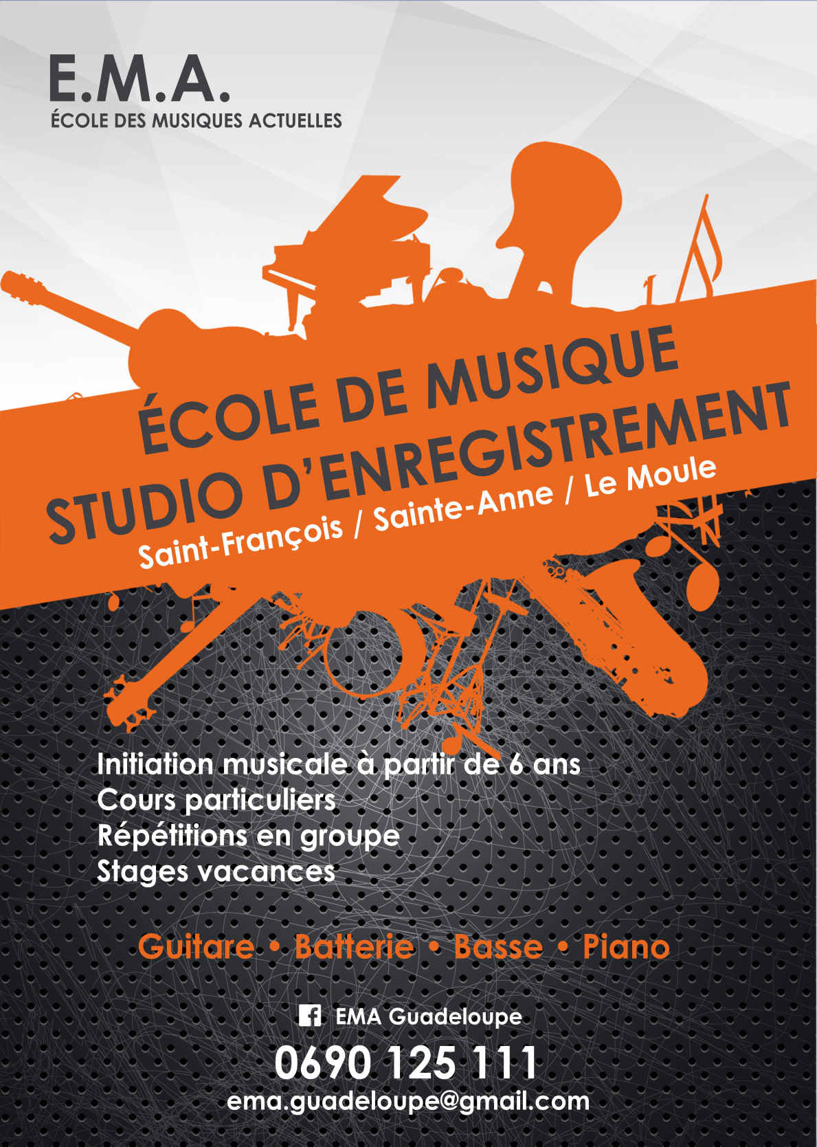 Musique – St François – Ste Anne – Le moule