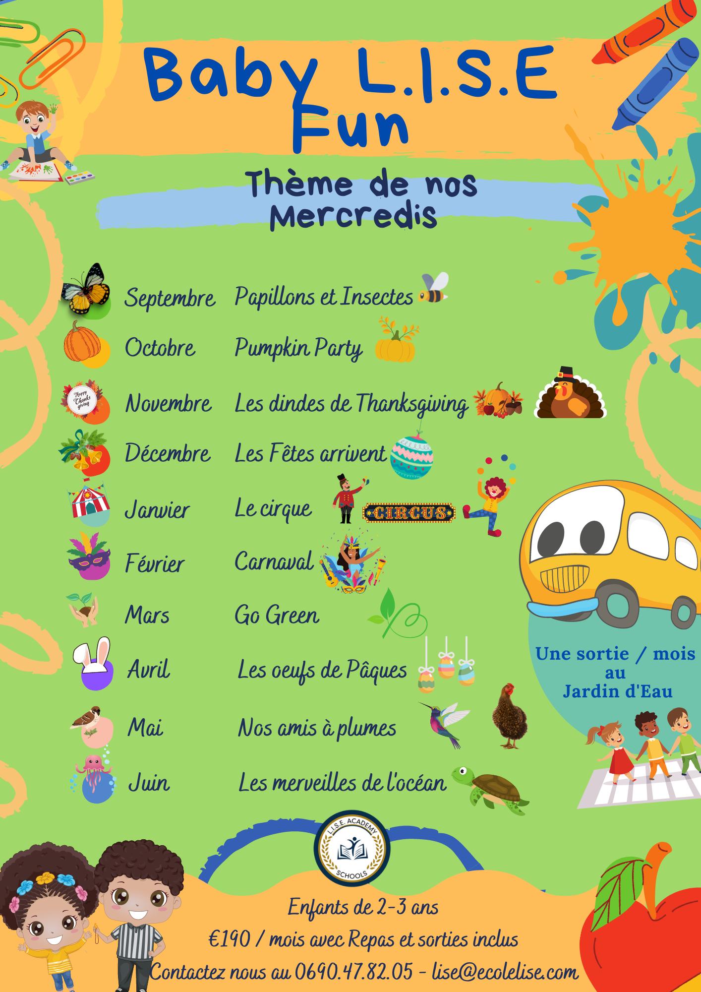 Lise Academy – Multi activités – Baie Mahault