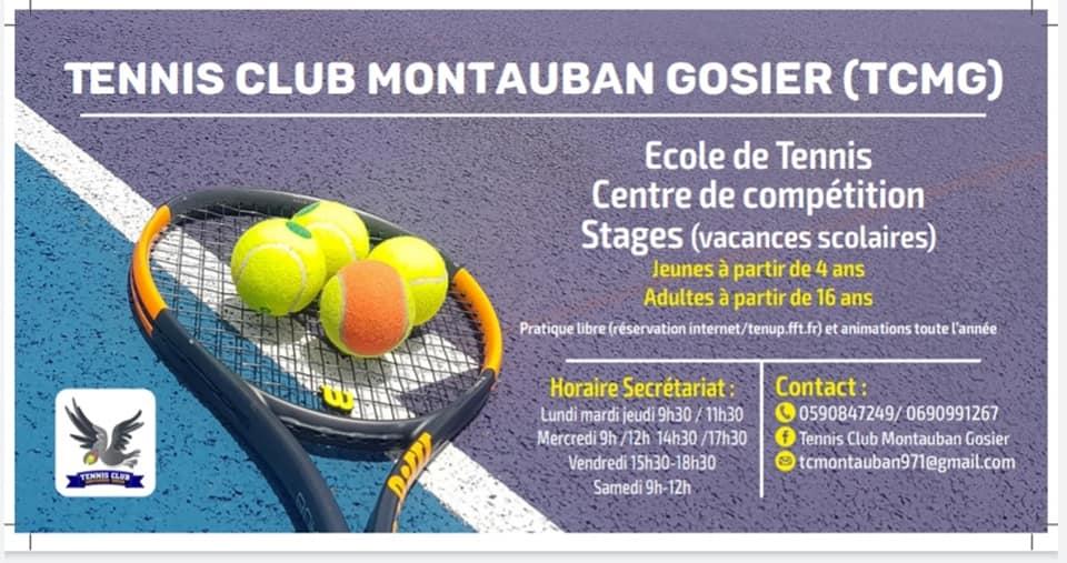 Tennis pour enfant au Gosier