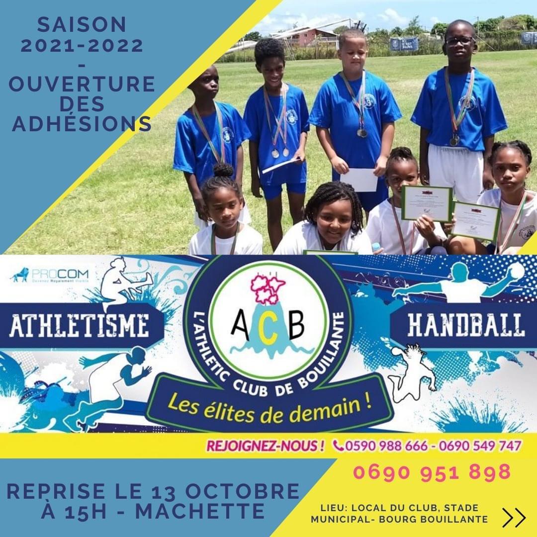 Athlétisme et Handball -Bouillante